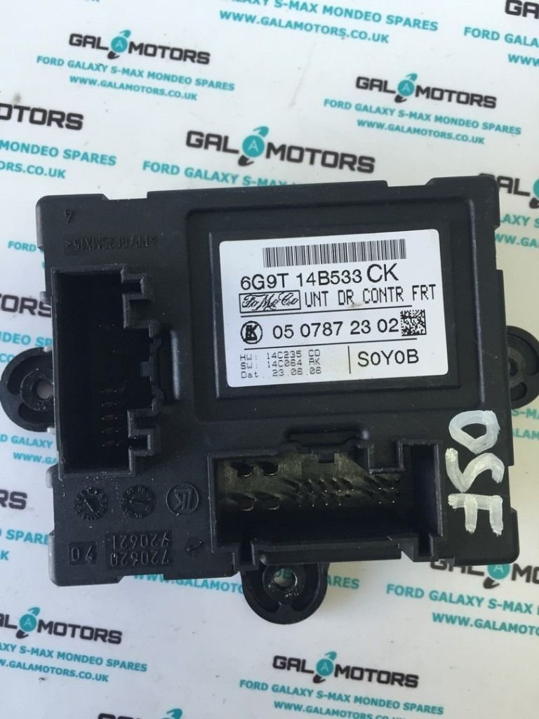 FORD S-MAX 2006-2010 OSF DOOR CONTROL MODULE DN07