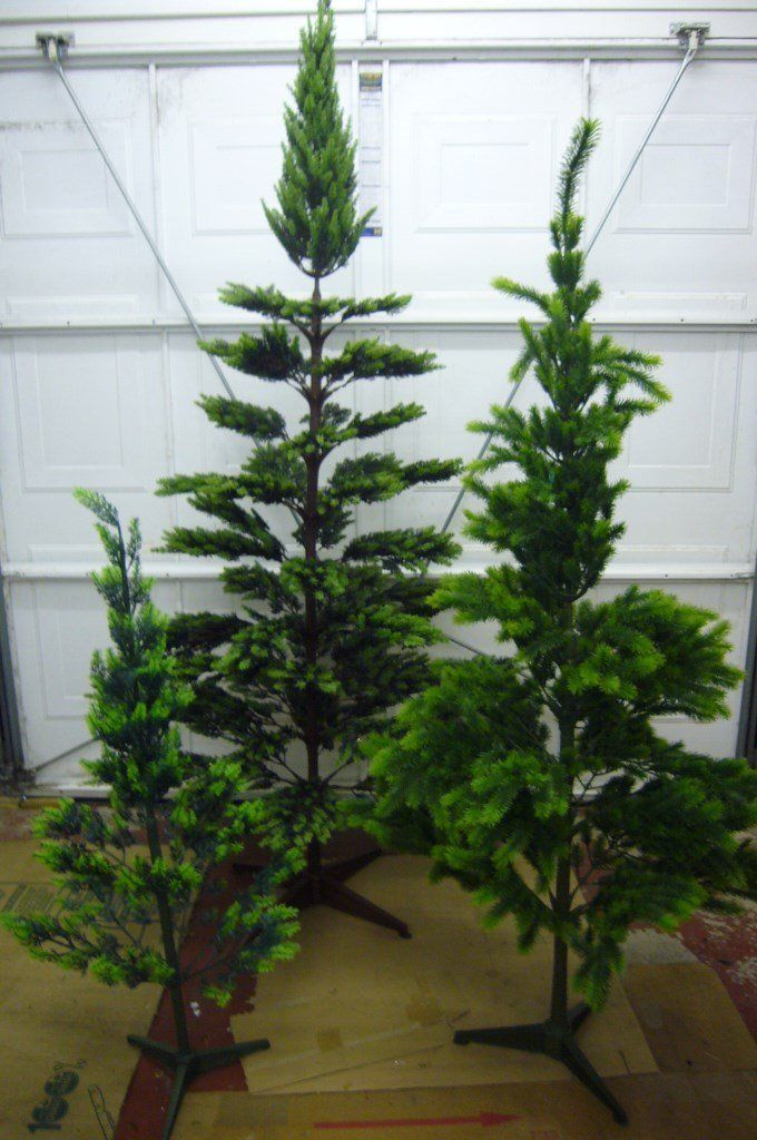 ARTIFICIAL CHRISTMAS TREES - 4ft/5ft6in/7ft