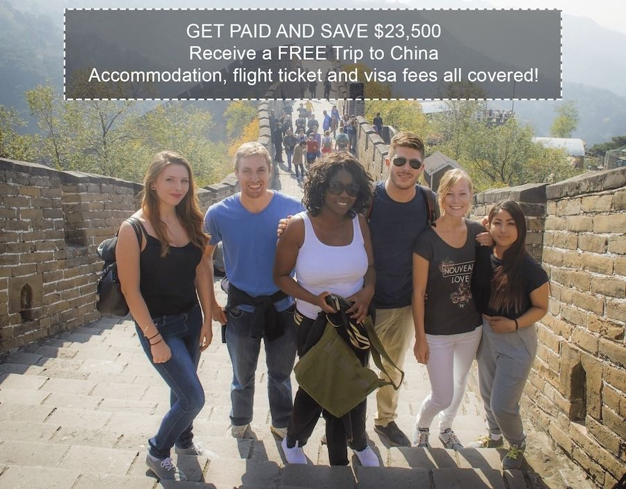 ??? TEACH & TRAVEL ABROAD - GET PAID & HAVE YOUR EXPENSES ALL COVERED ???