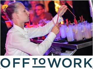 Flexible Shifts for Waiters & Bartenders at Extraordinary Events!