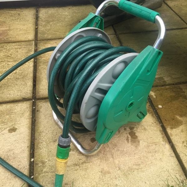 Hose pipe on reel 20 metres