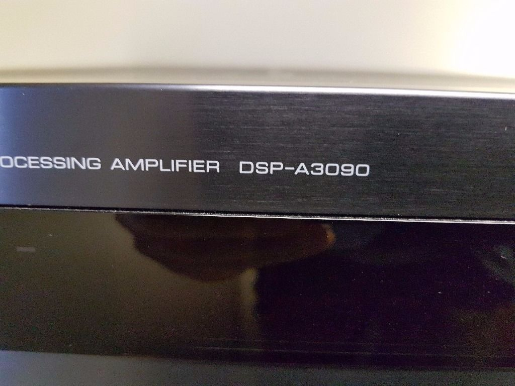 YAMAHA DSP-A3090 STEREO AMPLIFIER with remote