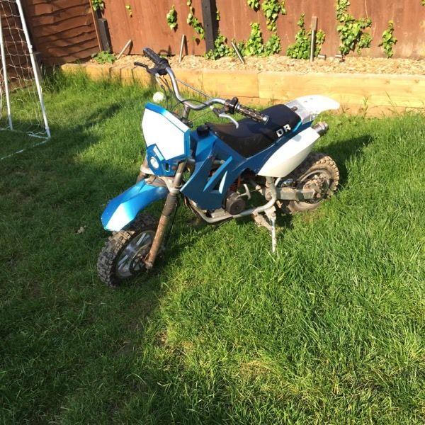 Dr49 50cc kids off road bike midi moto not mini moto