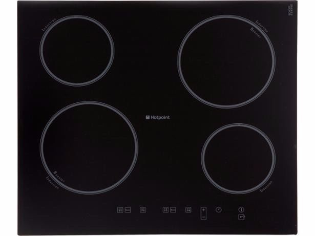The Hotpoint CIC642C Experience induction hob (for spare parts)