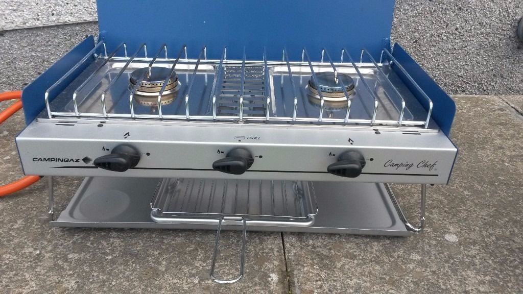 Campingaz Camping Chef Multi-Functional x2 stoves and grill
