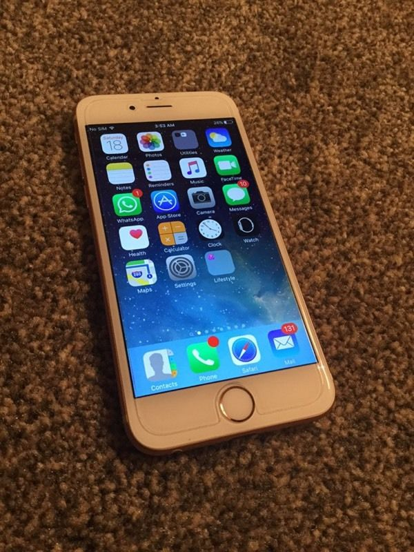 Apple iPhone 6s, 128GB Rose Gold unlocked to any network like new
