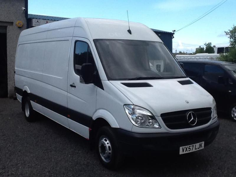 Mercedes-Benz Sprinter 511CDi LWB twin axel
