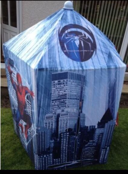 Spider-Man fabric playhouse