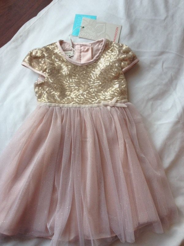 Monsoon dress 3-6 months Brand new with tags
