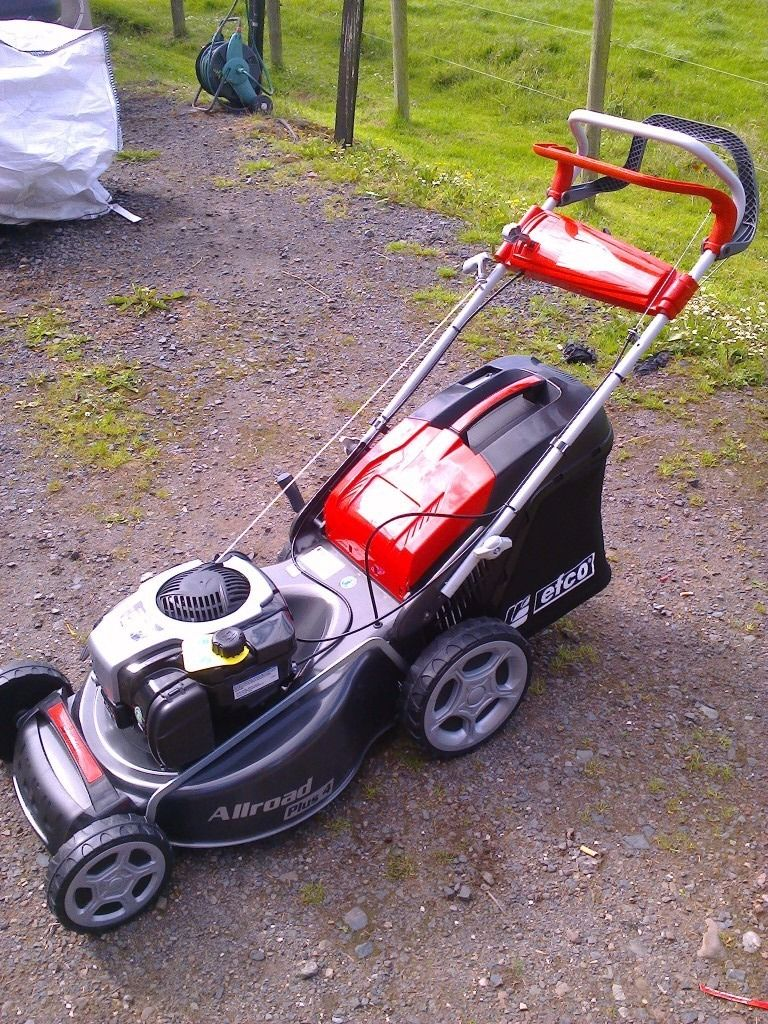 Efco lr53 tbx lawnmower