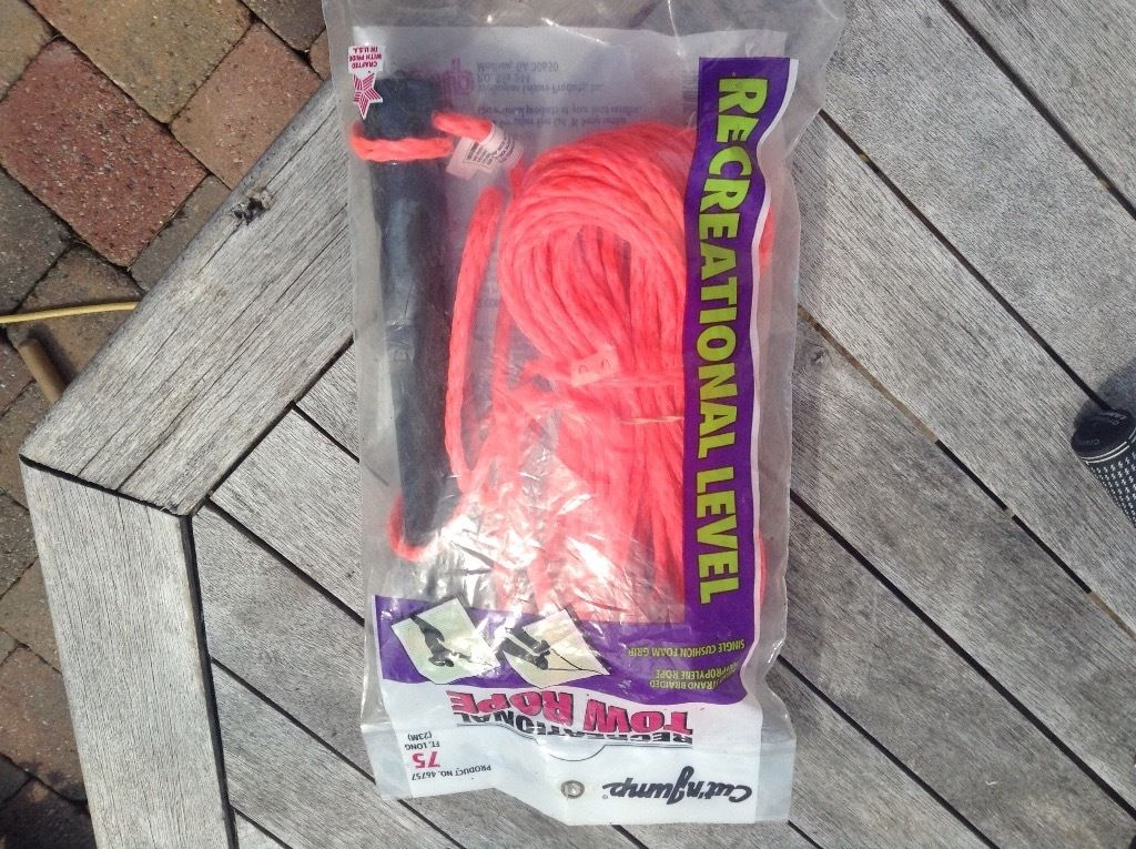 Waterskiing Tow Rope 75ft- brand new sealed