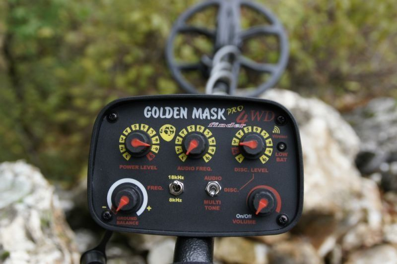 """ Wanted Metal Detector Golden Mask 4 Pro WD dual frequency """