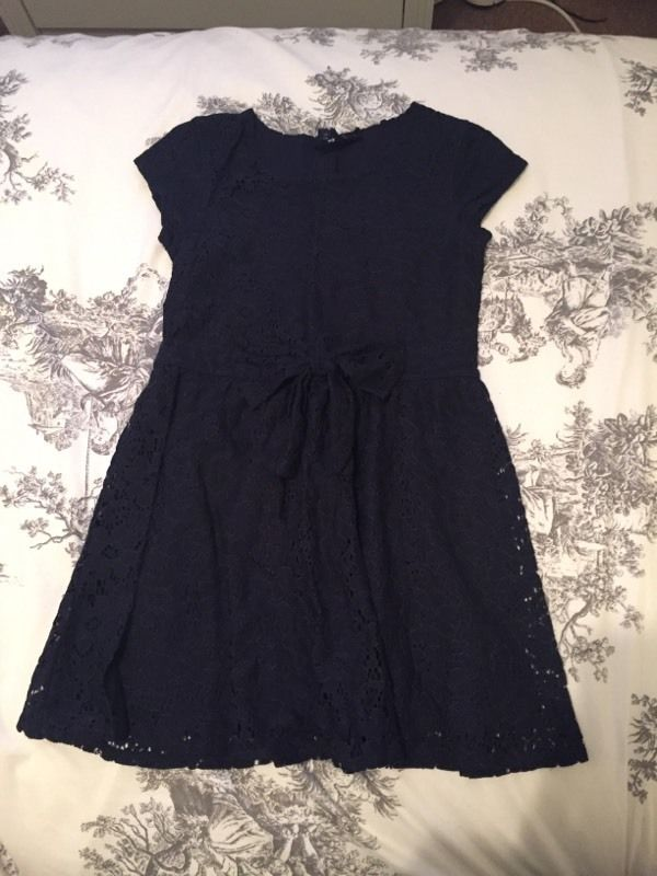 Next navy lace dress