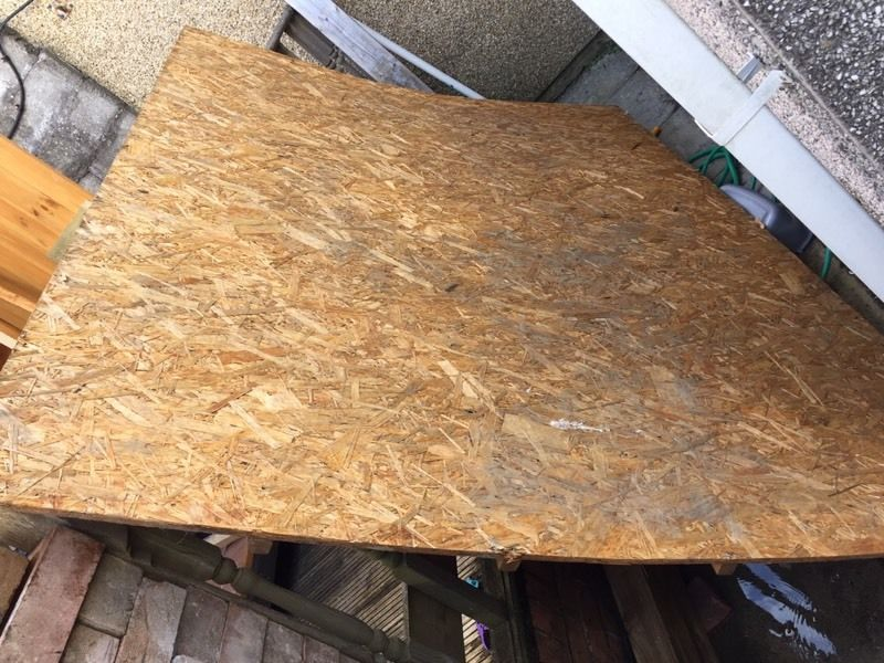 Free sheet of 8x6 osb board