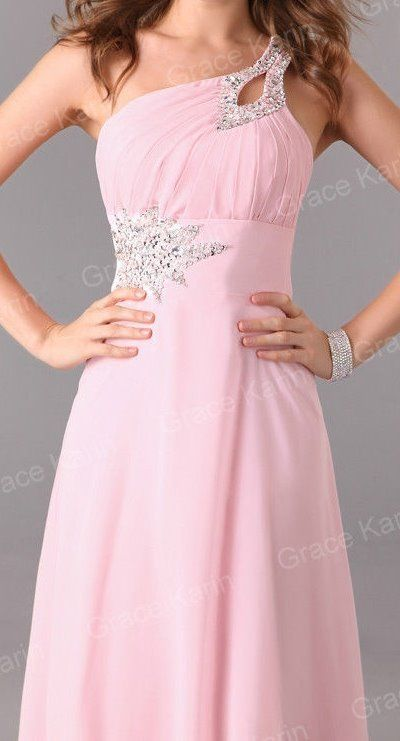 Bridesmaid Dress with Swarovski Crystals & Matching Shoes