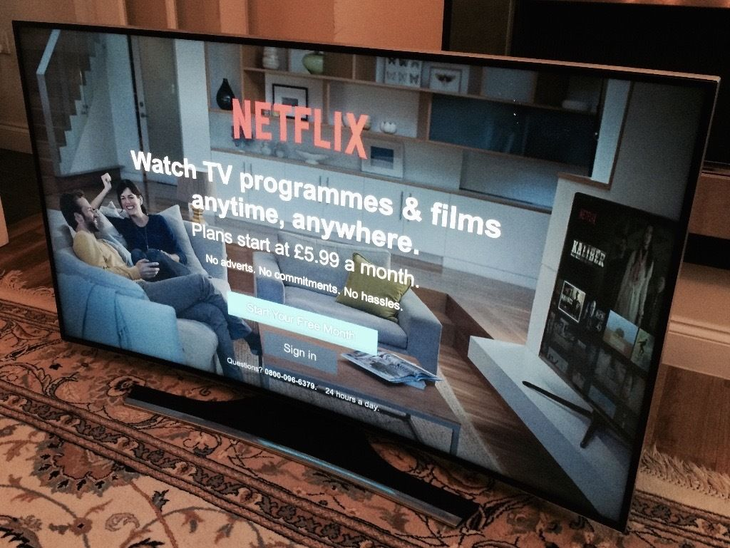55in Samsung Curved SMART 4k Ultra HD Freeview HD & Freesat HD - LED TV