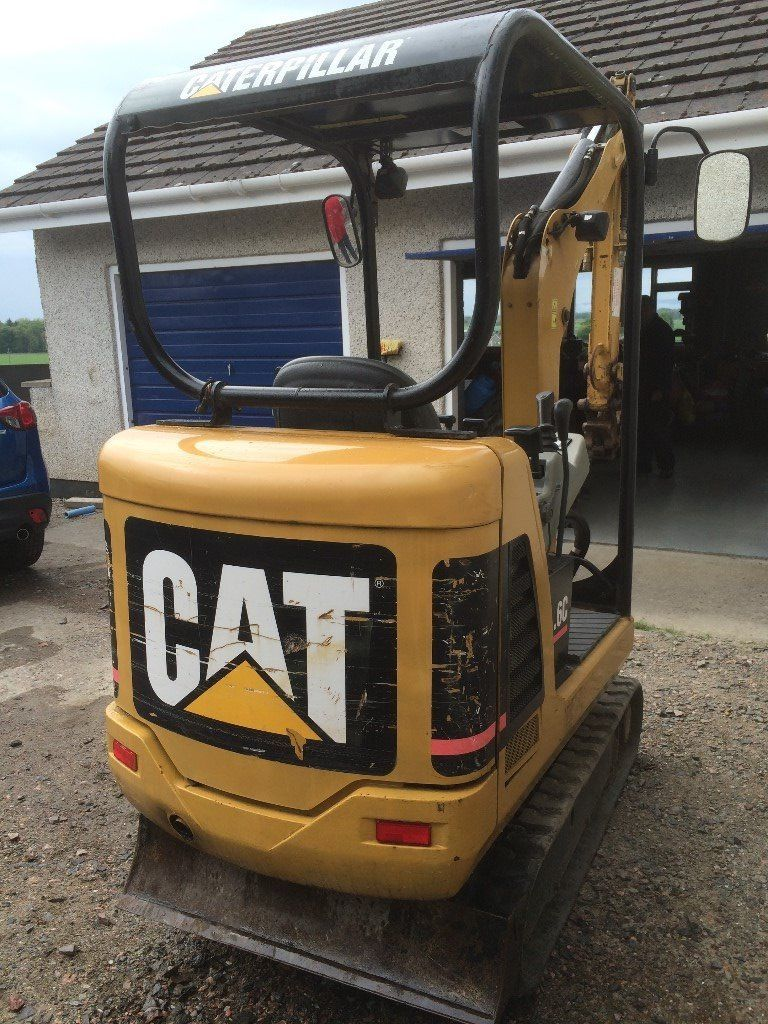 cat 301 1.6 ton digger for sale