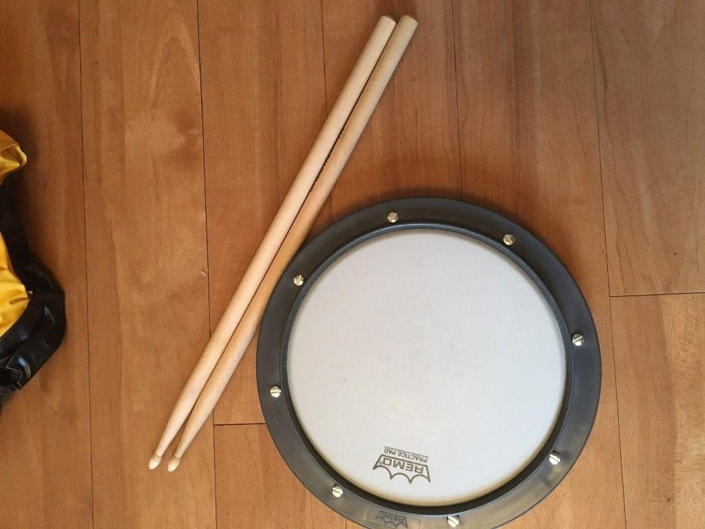 Small practice drum pad