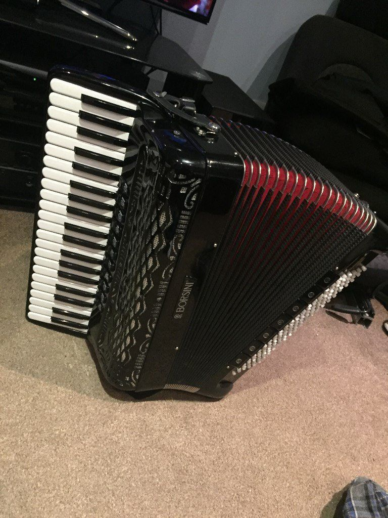 Borsini SL 4117 M - 120 Bass - MIDI - Accordion