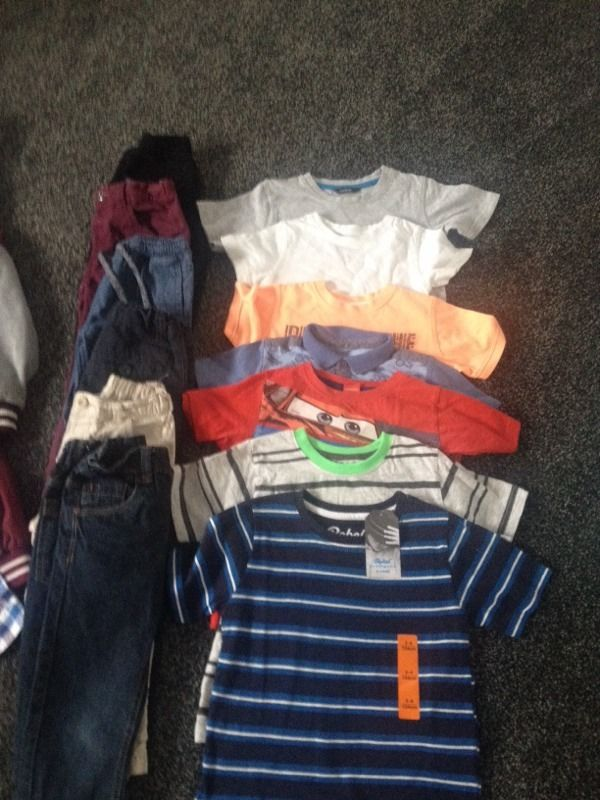 Boys bundle of clothes age 3-4years