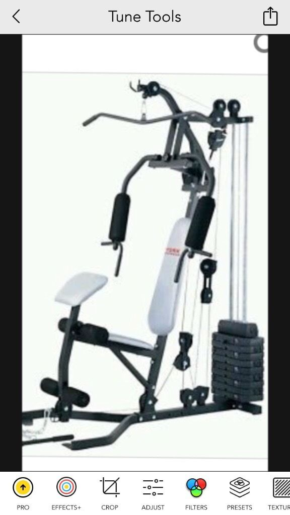York multi gym like new for sale barely used