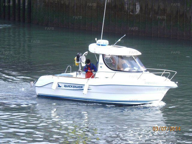 Boat for Sale (PRICE REDUCTION) . Quicksilver Pilothouse 630SD .. 115HP Diesel Inboard Marine Engine