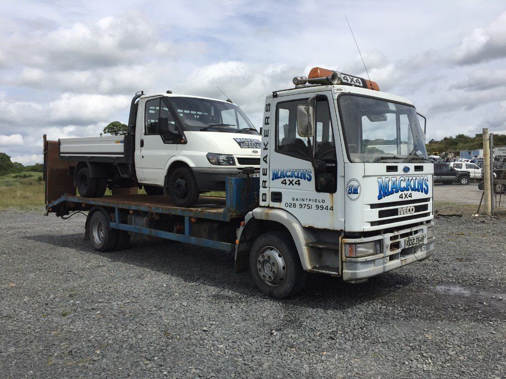 1997 IVECO 120E 180 TILT BODY RECOVERY TRUCK FOR SALE
