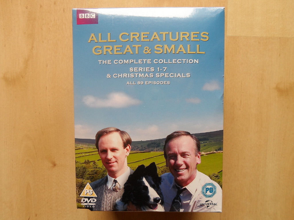 ALL CREATURES GREAT AND SMALL SERIES 1-7 DVD BOX SET NEW AND SEALED
