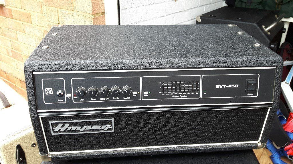 Ampeg Bass Head SVT 450 HU