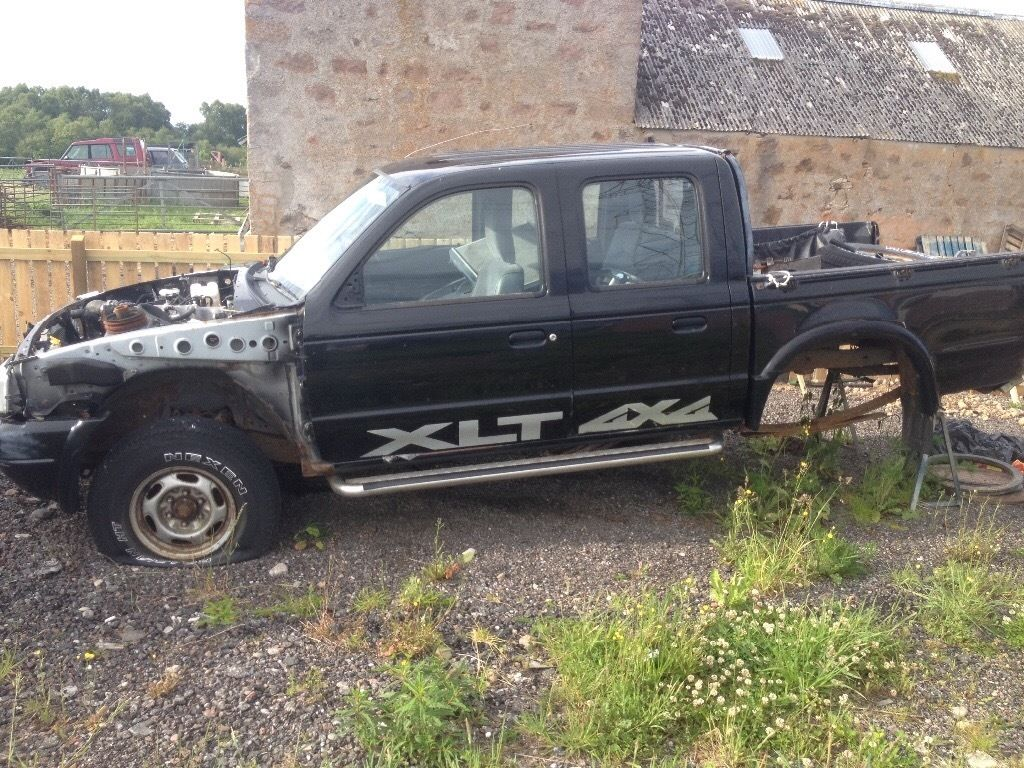 2002 ford ranger 2.5 xlt breaking