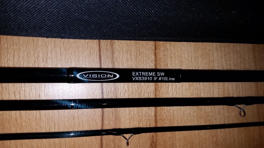 Vision Extreme SW VXS3910 9' 10 weight single handed fly rod