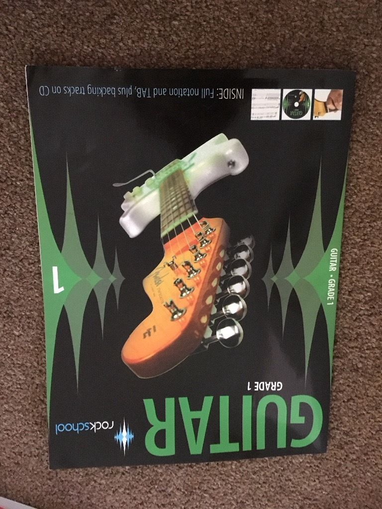 Guitar rock school grade 1 book with CD