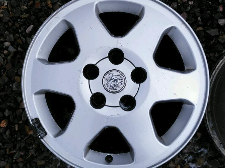 Alloys vauxhall