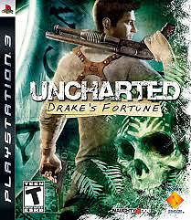 uncharted drake's fortune ps3 game