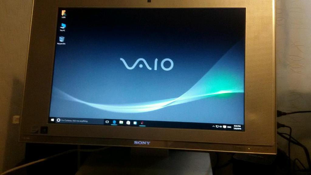 Sony vaio all in one pc, windows 10