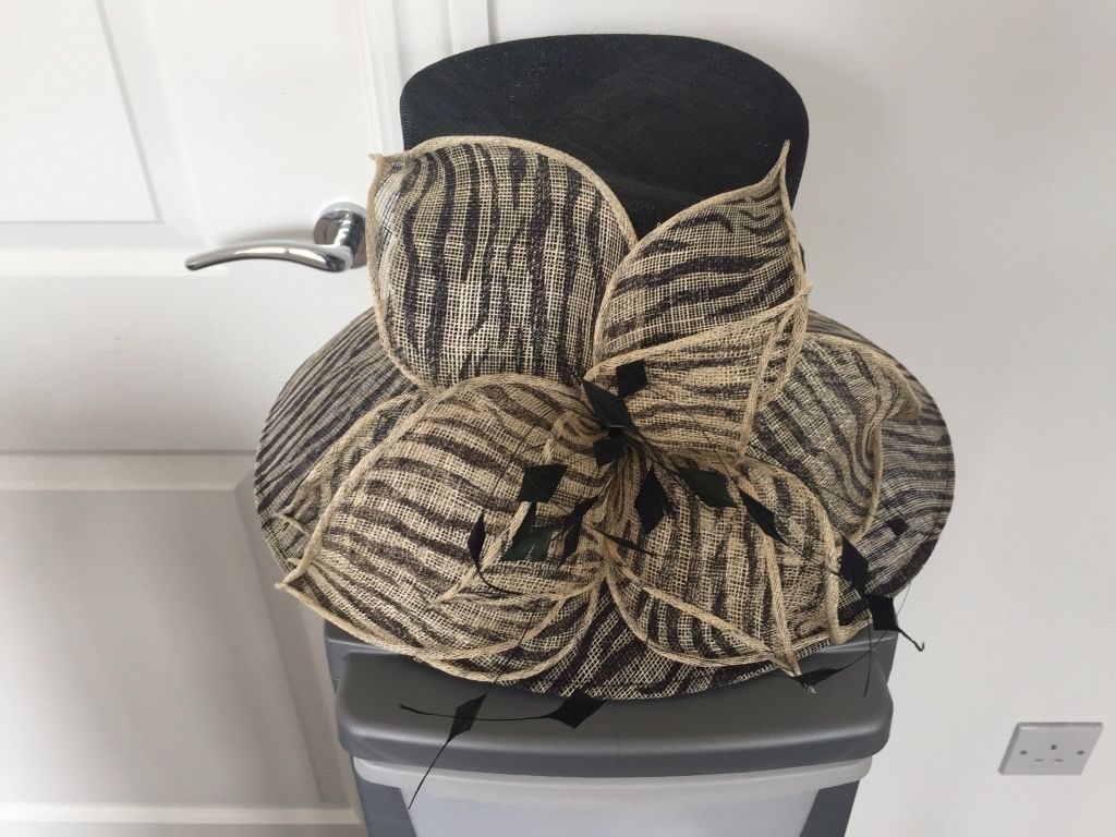 Ex Brodie Countryfare wedding hat