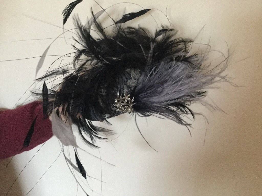 Hatinater from designer Joyce Paton. a must for weddings or a day at the races