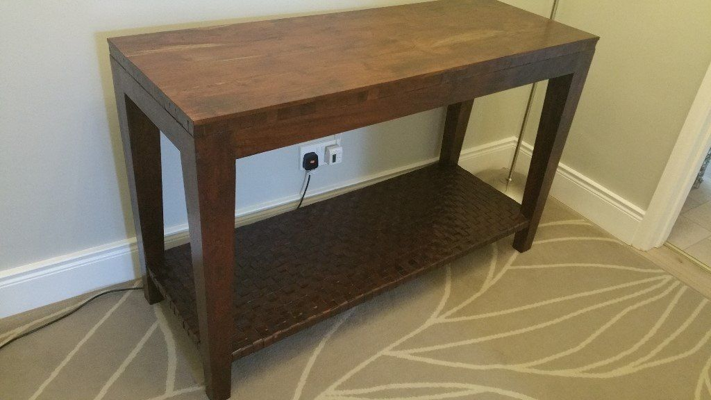 Console Table SADDLER