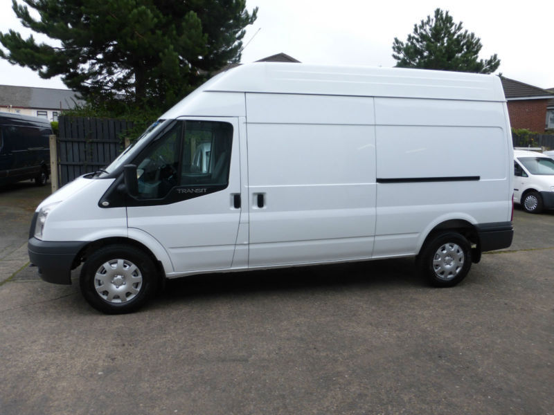 2012 FORD TRANSIT T350 LONG WHEEL HIGH ROOF SIDE DOOR,PLY LINED,VANS @ CARS