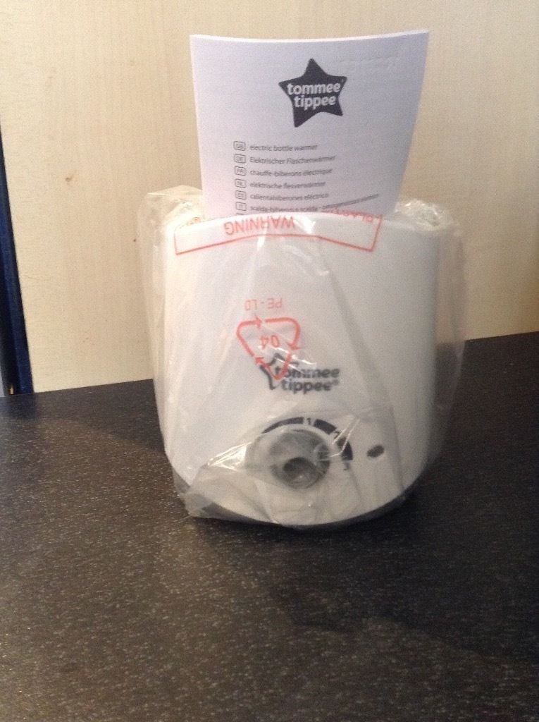 Brand new tommee tippee electric bottle warmer never used
