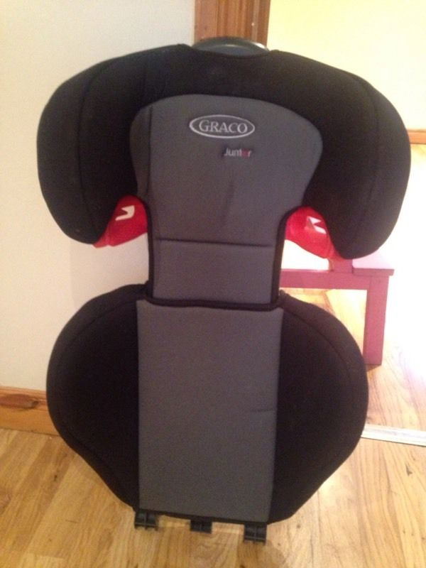 Graco car seat back to fit booster