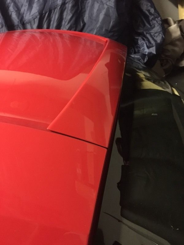 Z4 Hardtop Roof - Red