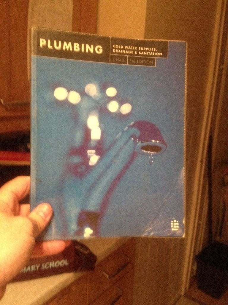 Plumbing Cold Water 3rd Edition F.Hall