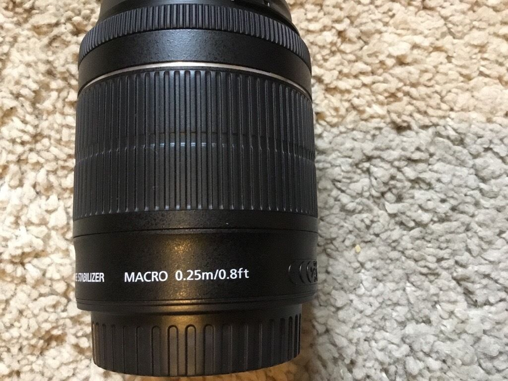 Canon efs 18-55mm is stm lens