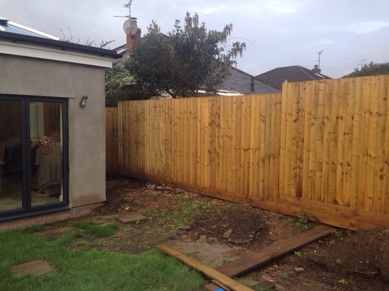 Fencing by Rhiwbina Fencing & Garden Services. Installation, Repair or Replacement.