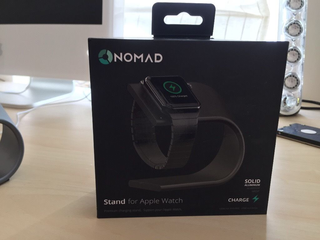Nomad apple watch stand brand new