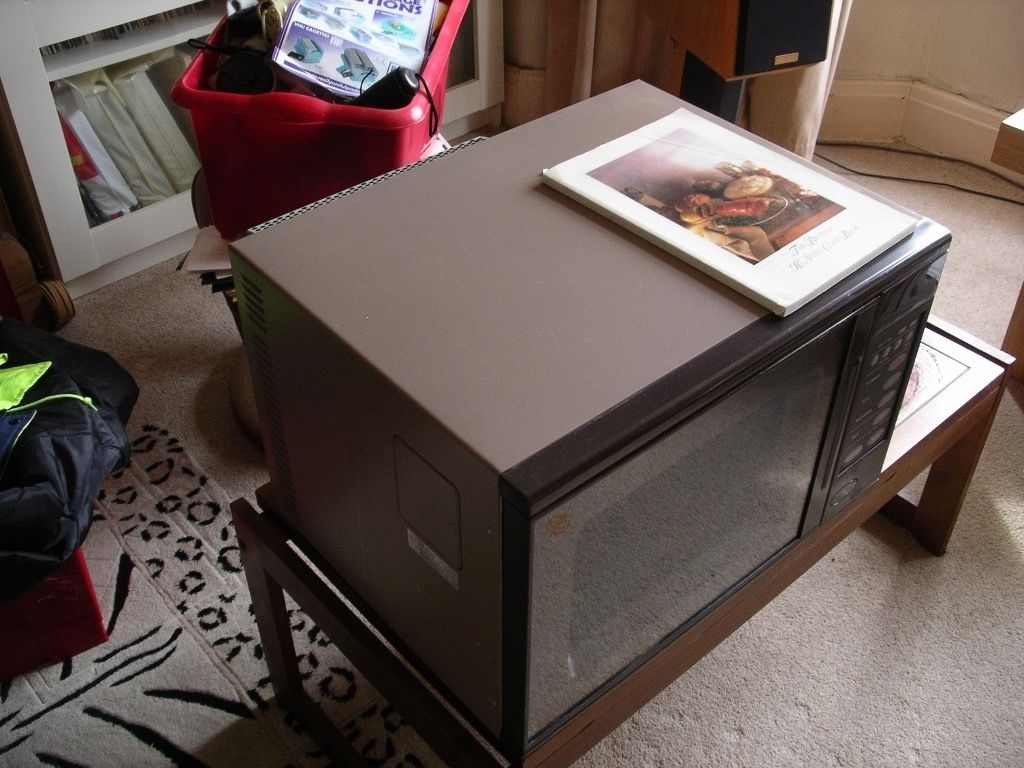 Large Combination microwave / fan oven