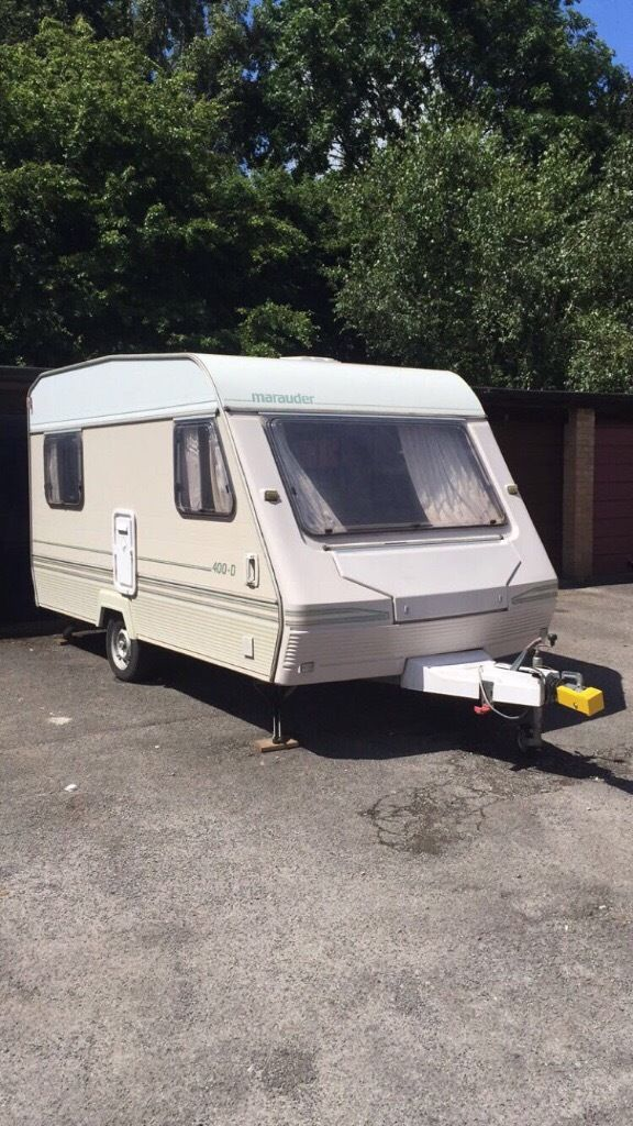 4 BIRTH touring caravan with Awning