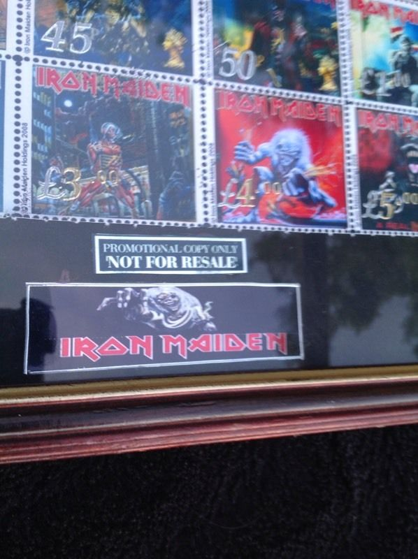 Iron Maiden Limited Edition British Stampset