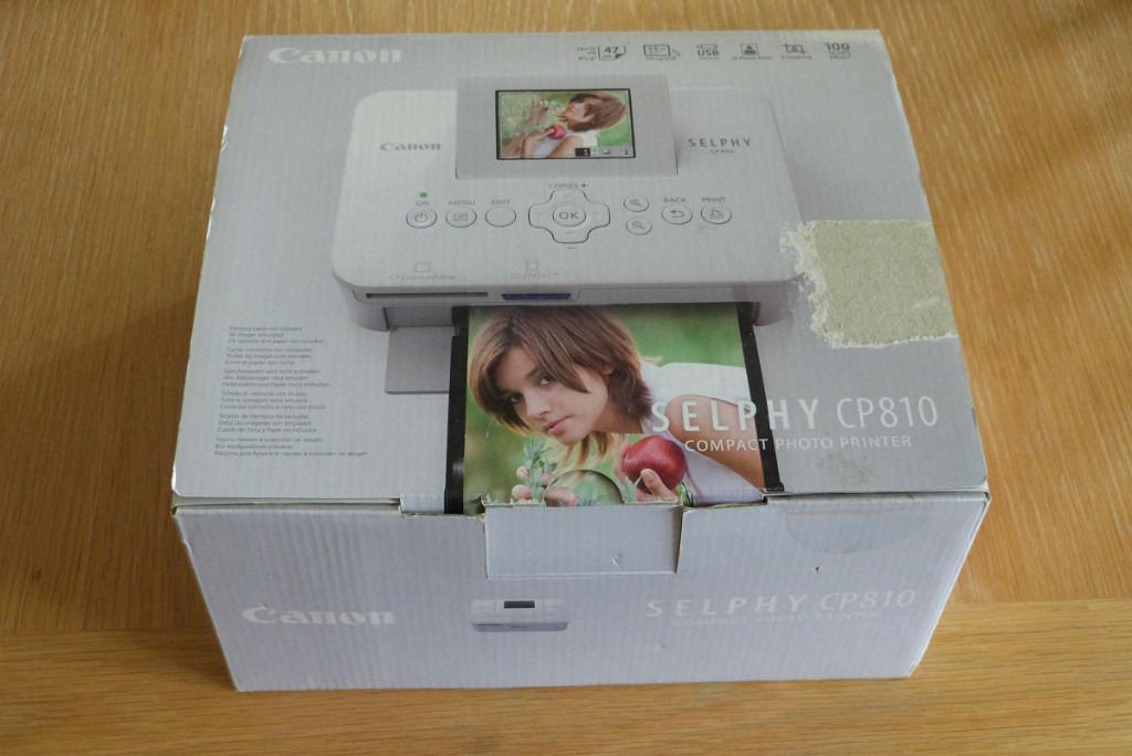 Canon Selphy CP810 compact Photo Printer